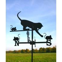 Artikel-nr 4063 klein.  kat met muizen